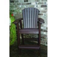 Perfect Choice Furniture Bar Height Chair Mocha OFCBH-M