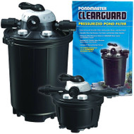 Pondmaster Clearguard Pressurized Filter with UV Clarifier