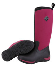 Muck Boot Arctic Adventure Black & Maroon Womens Winter Snow Boots WAA-600