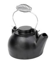 Achla Minuteman 2.5 Quart Cast Iron Humidifying Teapot Kettle T-16-BB