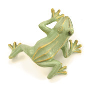 Achla Jumping Frog Green Statue Garden Statuary FRG-03G