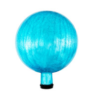 "Achla 10"" Gazing Globe Ball Teal Crackle G10-T-C"