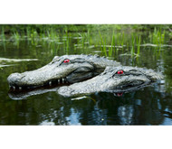 Pair OfThe Gator Float Predator Alligator Decoy Geese Repellent 1 Large and 1 Small
