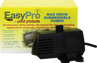 EasyPro 400 GPH Submersible Mag Drive Pump w/ Volcano, Waterbell Noz EAPREP400