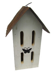 Bird-N-Hand Distressed Wood The Butterfly House Decorative Butterfly House SM15