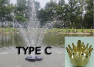 Matala Floating Fountain Type C Nozzle