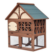 Merry Pet Tudor Rabbit Hutch Coop House PH0010010800