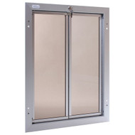 PlexiDor Performance Pet Door Dog Door PD DOOR XLARGE SV SILVER