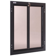 PlexiDor Performance Pet Door Dog Door PD DOOR XLARGE BR BRONZE