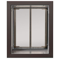 PlexiDor Performance Pet Door Dog Door PD WALL LARGE BR BRONZE