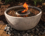 "Aquascape Fire Fountain 782012 Small Overall Dimensions 24"" Diameter 12"" H"