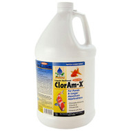 Hikari Pond Solutions Cloram-X Ammonia and Chloramine Remover 1-Gallon 72328
