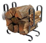 Enclume Large Modern Log Rack Hammered Steel LR19A