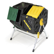 Miracle Gro 37 Gallon Dual Chamber Tumbling Composter DFOM002