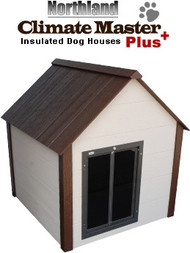 Northland CMP-XL Large Climate Master Plus Large Insulated Dog House With Premium All Weather Dog Door (CMP-XL)