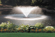 Scott DA - 20 Display Aerator Pond Fountain 1/3 HP 230 V With 70 ft. Power Cord