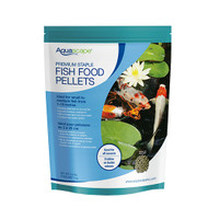Aquascape Premium Color Enhancing Koi Fish Food Large Pellets 2.2 lbs 98868