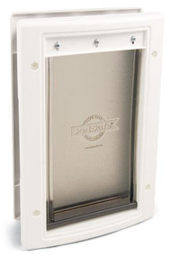 PetSafe Plastic Pet Door Premium White Large PPA00-10960