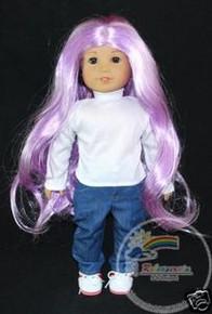 "18"" American Girl Lavendar 12-13 Wig #A002-VL200/1001"