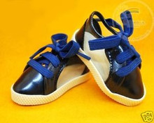 Dollfie MSD Unoa Shoes Clear/Patent Sneakers Dark Blue