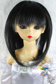 Dollfie SD Black Layer 8-9 Heat Resistance Wig #D3093