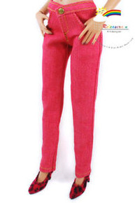 "16"" Tonner Tyler/Antoinette Outfit Skinny Jeans Red"