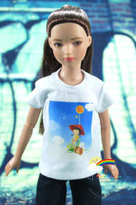 "12"" Tonner Marley Doll Outfit White T-Shirt Spring Day"