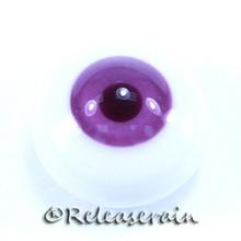 BJD Dollfie Doll Glass Eyes Purple/Wine 18mm #PP01
