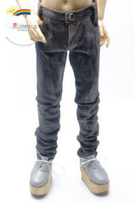 Dollfie SD13 Boy Black Washed Faded Slim Straight Jeans