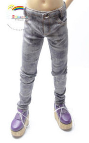 Dollfie SD13 Boy Purple/G Tie-Dye Washed Skinny Jeans