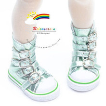 Buckles Ankle Leather Sneakers Boots Shoes M. Honeydew for MSD Dollfie dolls