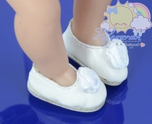 Releaserain Rose Flower Ballet Shoes Pumps White for Blythe/Kish Riley/Riki doll