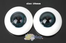 Doll Glass Eyes Deep Ocean 18mm #MM01 for BJD Dollfie, Reborn dolls