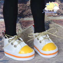 "Lace-Up Chunky Sneakers Shoes #K14 for MSD Kaye Wiggs BJD Dollfie 16"" Sasha Doll"