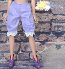 "Doll Clothes Fluffy Lace Bloomers Pants Lavender for 16""Tyler Ellowyne Wilde MSD"