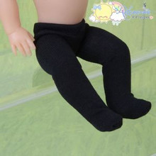 "Doll Clothes Pantyhose Stretch Knit Tights Black for 8"" Kish Riley 7.5"" Riki"