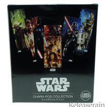 Ensky Star Wars Chara-Pos Collection 16 Posters (1 Box of 8 Packs, 1 Pack 2 Sheets, All 16 Types) Made in Japan
