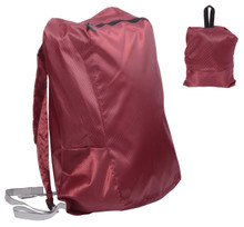 Releaserain Ultra Lightweight Handy Waterproof Burgundy Folding Backpack Daypack Rucksack 14L Packable Foldable Portable Bag for Camping Hiking Cycling Trekking Gym Sport Outdoor Beach Shopping Carry On Travel
