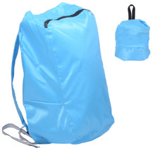 Releaserain Ultra Lightweight Handy Waterproof Sky Blue Folding Backpack Daypack Rucksack 14L Packable Foldable Portable Bag for Camping Hiking Cycling Trekking Gym Sport Outdoor Beach Shopping Carry On Travel