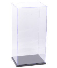 "15x7x6 Inch Assembly Transparent Clear Acrylic Display Dustproof Protection Showcase Case Box for 1/6 Scale Action Figure, Statue, Yo-SD Size BJD Ball Jointed Doll, 10-13"" Dolls"