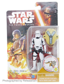 "Star Wars The Force Awakens First Order Flametrooper 3.75"" Basic Figure Takara Tomy Japan"