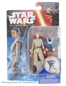 "Star Wars The Force Awakens Rey (Starkiller Base) 3.75"" Basic Figure Takara Tomy Japan"