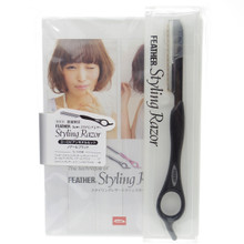 Feather Styling Razor Black DVD Limited Edition Europian Model Titanium Coat SR-EN Made in Japan