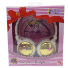 Gourmandise Bandai Sailor Sisters Collection Sailor Moon 20th Anniversary 3.5mm Stereo mini Plug Compact Henshin Transformation Brooch Headphone Japan Import