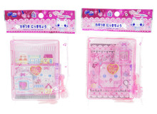 Romantic Cute Town Mini Diary Note Book with Lock and Keys Set of 2 Japan Import