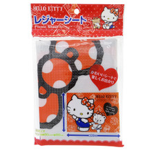 Sanrio Hello Kitty Leisure Sheet Picnic Beach Mat Blanket (80 x 60cm) Japan Import