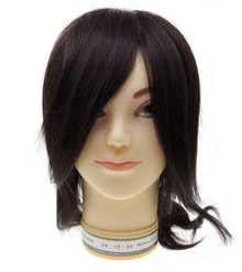 Yukari Japan Human Hair Training Practice Cosmetology Mannequin Manikin Model Head