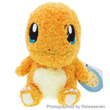 "Sekiguchi Pocket Monsters Pokemon MokoMoko Charmander Hitokage 7"" Plush Doll Japan Import"