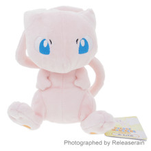 Sanei Pocket Monsters Pokemon All Star Collection PP20 Mew (S) 16cm Plush Doll Japan Import