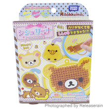Takara Tomy San-X Rilakkuma Shishurina DIY Hobby Kit No Needle Embroidery Craft Toy Full Set Japan Import